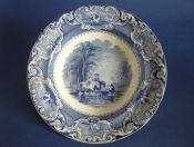 Bell and Co. of Glasgow 'Going to Market' Soup Plate c1860